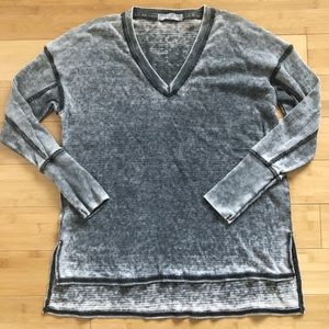 Project Social T Long Sleeve Burnout Thermal Top